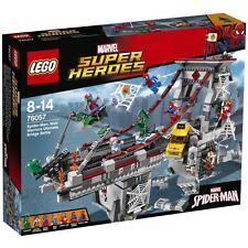 LEGO Super Heroes- Marvel 76057 Spider-Man : Le Combat suprême sur le Pont