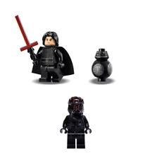 LEGO Star Wars Kylo Ren w/ lightsaber First Order TIE Pilot BB-9E from 75179