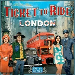 Ticket to Ride London Board Game by Days of Wonder - New and Sealed