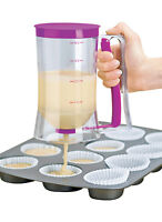 Home Baking Kitchen Tool Cake Mix Measuring batter Dispenser Muffin Pancake Bake