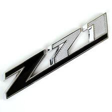 CHROME/BLACK CHEVROLET Z71 METAL REPLACEMENT OEM EMBLEM FOR TRUNK HOOD DOOR