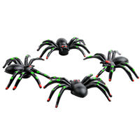 Universal 3D Spider Air Car Wheel Tyre Valve Dust Caps Covers Tire New Set of 4