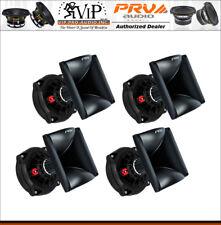 "4x PRV D250Ph-S 1"" Phenolic Compression Screw On Driver + (4) WG17-25 Black Horn"