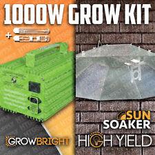1000 watt Hps & Mh Grow Light System Sunsoaker Hood 4x4