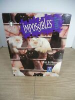 Cat & Mouse 750 piece w/ 5 Extra pieces Jigsaw Puzzle BePuzzled Impossibles 1994
