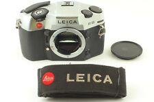 [ Near Mint ] Leica R8 silver SLR 35mm Film Camera Body w/ Strap Cap From Japan