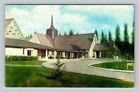Medina WA, St Thomas Episcopal Church, Chrome Washington Postcard
