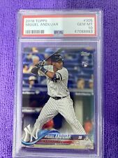 2018 Miguel Andujar Topps #305 GEM MINT PSA 10 checkout other auctions