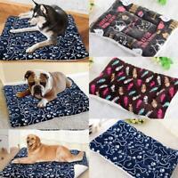Pet Bed Mattress Dog Cat Cushion Pillow Mat Blanket Soft Winter Warm Extra  Top