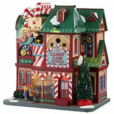 Lemax 05681 The Candy Cane Works Village Building 2c Multicolored