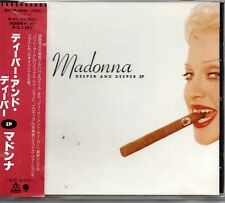 MAXI CD MADONNA	Deeper and deeper / Bad Girl / erotica REMIXES JAPAN OBI
