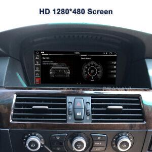 Android10 Screen Monitor  Car Multimedia GPS Navigation BMW E60 E90 CCC Carplay