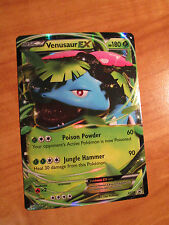 PL VENUSAUR EX Pokemon Card PROMO Black Star XY28 Set Power Trio Tin Fall 2014