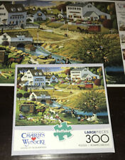 Buffalo Charles Wysocki HOUND OF THE BASKERVILLES 300 Piece Jigsaw Puzzle Poster
