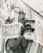 PARIS c. 1935 - Homme Orchestre sur les Boulevards - Div 12043