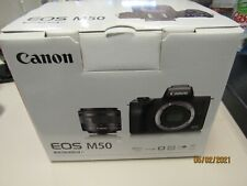 Canon EF-M 15-45mm F/3.5-6.3 STM IS Lens & Camera EOS M50 (30259 camera Mss)