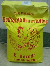 Hühnerfutter Geflügelkörnerfutter  Nutzgeflügel 25kg €,-65/kg