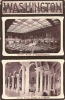 Washington DC - House of Representatives & Library of Congress ARCHITECTURE 1908