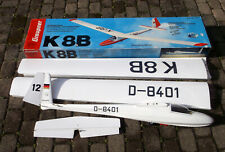 Graupner Segelflugzeug K 8B K8B Segelflieger Großsegler 4259 RC Modellbau selten