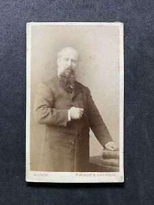 Victorian Carte De Visite CDV: Distinguished Gent: Wilson: Formby Liverpool