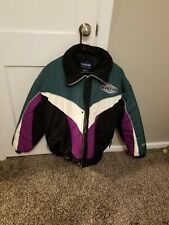 Vtg Yamaha Cold Weather Men's Size Large Winter Jacket, Retro Colors, Snowmobile