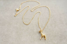 J.Crew Giraffe necklace Beautiful NEW Adorable with original Pouch Most Wanted!!