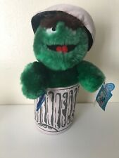 Vintage Applause Sesame Street Oscar The Grouch With Tags