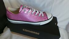BRAND NEW in box Converse All Star Pink Glitter Ox trainers Size 5 EU 38
