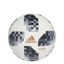 Adidas World Cup Mini Soccer Ball 2018- Black (Model CE8139) ()