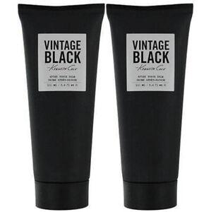 (2 PIECE) KENNETH COLE VINTAGE BLACK 3.4 oz. AFTER SHAVE BALM (NEW * UNBOXED)