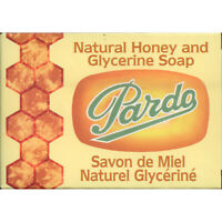 Pardo Natural Honey & Glycerine Soap Bar Skin Moisturizer Jabon Glicerina y Miel