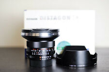 Carl Zeiss 18mm F/3.5 ZF.2 Wide Angle Prime FX Lens - For Nikon - MINT!