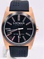 Orologio Locman Stealth DATA Quarzo 201PLK/400 42mm Gomma Scontatissimo Nuovo