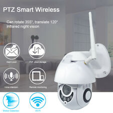 1080P CCTV WIFI IP HD Camera Wireless PTZ Smart Home Security IR Cam Outdoor New