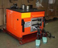 "1600W Electric Rebar Bender w/ 2 Foot Pedal Bending 25mm  1"" #8 Rebar Steel RB25"