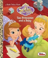 Little Golden Book: Two Princesses and a Baby (Disney Junior: Sofia the...