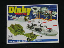 Dinky Die Cast Toys Catalogue No.11