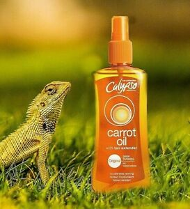🥕🥕NEW Calypsa Original Tanning Accelerator Carrot Oil Spray 200 ml SPF 0 🥕🥕