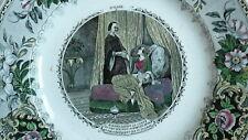ASSIETTE Creil Montereau - Dumas - Comte Monte-Cristo - 19eme - n°8 HAYDEE