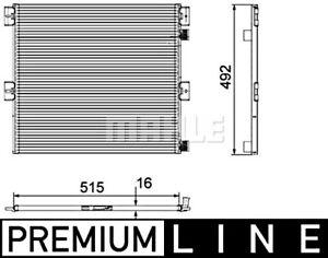 Renault Midlum BEHR Condenser AC Air Conditioning 2006-