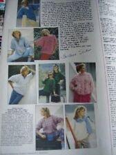 Diana's Fashion Crochet Magazine #4 Nov 1986 With 24 Great Designs RARE