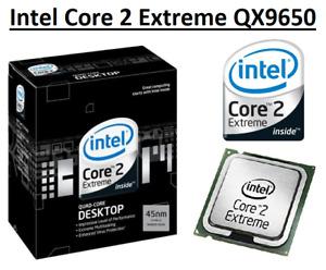 Intel Core 2 Extreme QX9650 SLAN3 3.0GHz, 12MB, 4 Core, Socket LGA775, 130W CPU