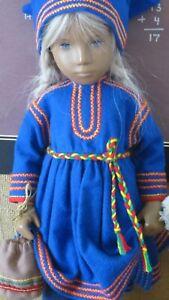 Scandinavian Folk Costume for Sasha Doll - Lapland!