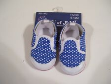CHILD BABY TODDLERS CLOTHING PATRIOTIC RED WHITE BLUE SHOES 4TH OF JULY