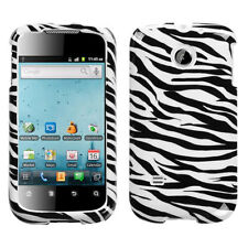 For Huawei T-Mobile Prism Hard Protector Case Snap on Phone Cover Zebra