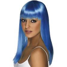 Smiffys 30001sm Wig Neon Blue Glamourama