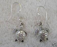 Sea Turtle Earrings! STERLING silver post! Delta Zeta