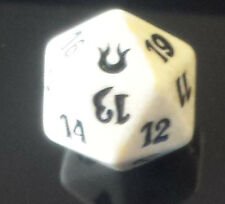 1 WHITE Born of the Gods d20 SPINDOWN Die FatPack , 20 sided Spin Down Dice MtG