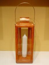 Candle Lantern ~ Large * Royal Rangers ~ Brass & Copper ~ Gunstock * FcF * New!
