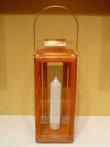 Candle Lantern ~ Large * Royal Rangers ~ Brass & Copper ~ Gun Stock * FcF * New!